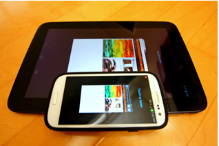 Yopu can beam media from your phone to tablet