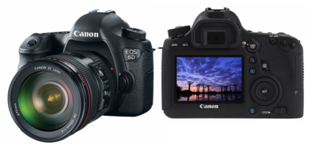 The Canon EOS 6D is one of several new Wi-Fi enabled cameras