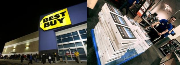 The top three U.S. Big Box retailers produce almost 600 billion dollars in revenue