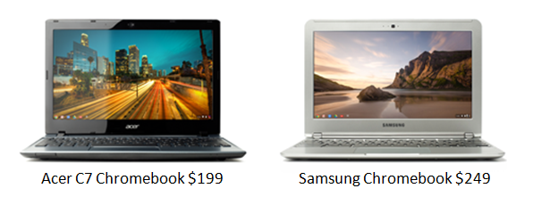 Before the Chromebook Pixel, Chromebooks were all about value
