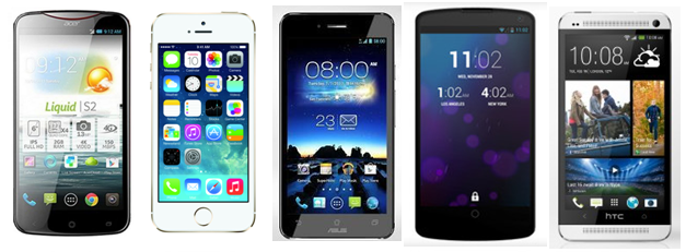 Top Ten Phones of 2013 - Group One