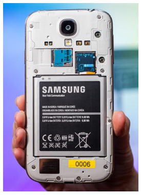 Samsung makes it easy for you to swap or replace the battery in your phone.