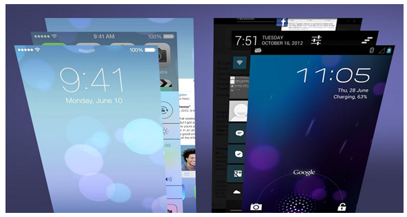 It's Clear Some of the Most Popular Features in iOS 7 were Copied from Android