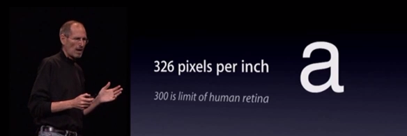 WWDC 2010 was where the Retina myth began