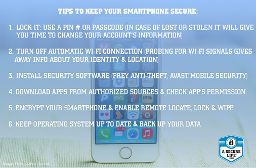 Extra tips to keep your smartphone secure